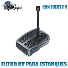 FILTROS UV PARA ESTANQUES FILTRO UV DE ESTANQUES FILTROS UV ESTANQUES FUENTES