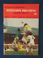 Soccer Review - Season 1969/70 - Valomore Publishing - 60 pages