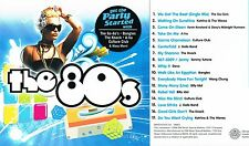 The 80's Party Playlist (17 best pop 80's) CD BRAND NEW at Musica Monette #234