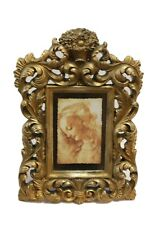 """Decorative Ornate Gold Easel Back Picture Frame  4"""" x 6"""" New"""