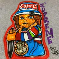 Supreme Forty Deuce Tee T-shirt Chucky Gray M size Shipping From Japan New