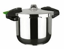 MageFesa Rapid Stainless Steel 3 QTS. Pressure Cooker - 2 Pieces