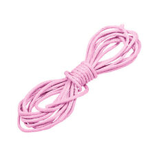 Round (1mm) Waxed Cotton Jewellery Cord Light Pink 1m (N82/6)