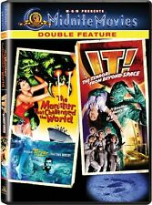 MONSTER CHALLENGED WORLD + IT TERROR FROM BEYOND SPACE New DVD Midnite Movies