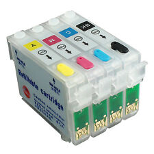 NON-OEM Refillable Ink Cartridge kit for EPSON TX400 TX409 TX410 TX100 T20 73N