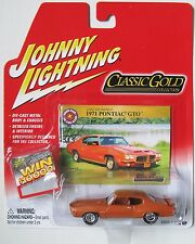 JOHNNY LIGHTNING R23 CLASSIC GOLD COLLECTION 1971 PONTIAC GTO RAM AIR rr