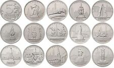 [RU129] Russia 14x5 roubles 2016 The Capitals Liberated by the Soviet Troops UNC