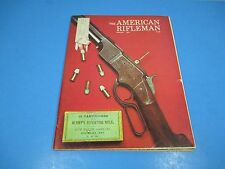 American Rifleman Magazine August 1974 50 Cartridges for Henry's Repeating Rifle