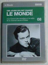 DVD CES JOURS QUI ONT CHANGES LE MONDE - N°8 - LA GUERRE DES MONDE à la radio +