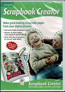 Arcsoft Scrapbook Creator Pc New XP Turn Your Photos Into Great Scrapbook Pages