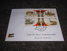 Palästina / Palestine 2001 WWF Hubara Bustard / Trappe Ersttagsbrief / FDC