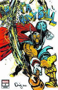 Beta Ray Bill #1 Exclusive Daniel Warren Johnson Thor 337 Homage Color Variant
