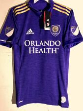 Adidas Authentic MLS Jersey Orlando City SC Team Purple sz L