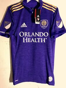 Adidas Authentic MLS Jersey Orlando City SC Team Purple sz XL