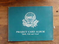 COMPLETE VINTAGE SHELL PROJECT CARD ALBUM- SHELLS, FISH & CORAL  60 CARDS