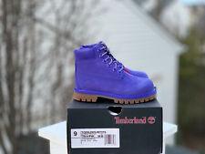 Timberland Violet Haze 6 Inch Toddler size 9 Limited Release Supreme Kith Kids