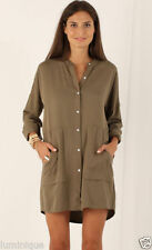 Boho Solid Shirt Dresses for Women