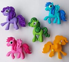 PONY PARADE Horse Pegasus Unicorn My Little Pony Style Dress It Up Craft Buttons