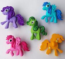 PONY PARADE Horse Pegasus Unicorn My Little Pony Style Dress It Up Craft Buttons