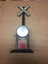 MARX TOYS RAILROAD CROSSING BELL SIGNAL