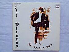 Cat Stevens Mathew & Son/New Masters 1971 Deram G. Kong A-1/B-2 Press 2 LP's EX