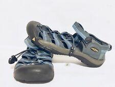 Keene Water Hiking Closed Toe Sandals Women's Size 5.0 Blue/Black