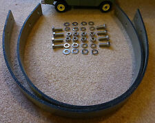 """Land Rover Series 2a 3 598854 34½"""" Salisbury Axle Check Straps & Stainless Bolts"""