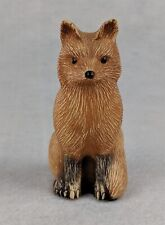 "Collectible Fox Figurine 3-1/2"""