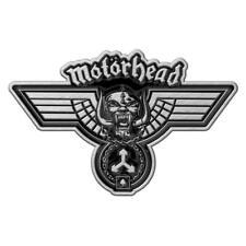 OFFICIAL LICENSED - MOTORHEAD - HAMMERED METAL PIN BADGE LEMMY ROCK