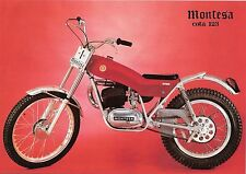 New listing Montesa Cota 123 Operations & Parts Manual 70pgs for Motorcycle Service & Repair