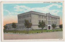 USA, High School, Colorado, Texas Postcard, B367