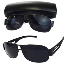 984d73c36bd2 Auth PRADA MILANO Logos Sunglasses Eye Wear Plastic Black Made In Italy  07BF775