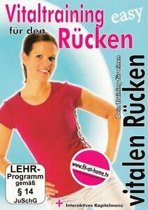 Vitaltraining für den Rücken [DVD/NEU/OVP] Nadine Kortenbruck