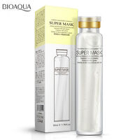 Super Mask Bioaqua Bio Aqua Collagen Hyaluronic Acid Wrinkle Face Lifting Mask