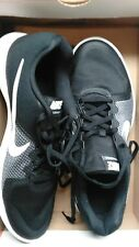 Nike Free RN SIZE 10.5 Run Black White Mens Running Shoes Trainers 831508-001