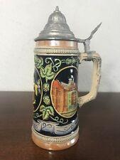 Vintage German Beer Stein mug GERZ Germany MUNCHEN