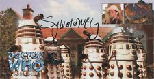 """RARE Doctor Who """"Imperial Daleks"""" Collectable Cover - Signed by SYLVESTER McCOY"""