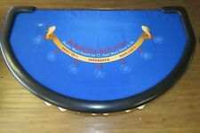 "Genuine Blackjack Layout Standing Stone Gaming""VERY RARE"""