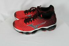 Mizuno Mens WAVE PROPHECY 4 Running Shoes Red Black Sz 9 - NWOB