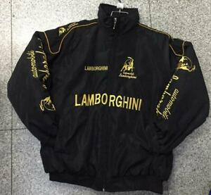 Lamborghini Embroidery Cotton padded clothes Jacket F1 team racing