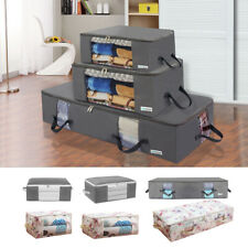 New Large Capacity Under Bed Storage Box Bag Organizer Clothes