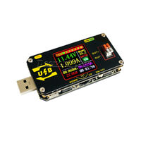 USB Type-C Charging Voltage Current Meter CNC Buck Boost Power Supply Tester