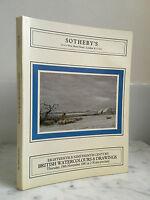 Catalogue Di Vendita Sotheby's XVIII & XIX Century Novembre 1981