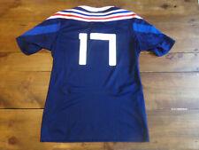 maillot rugby porté match PAIVA N°17 XV de FRANCE tournoi 6 nations U-20 2015