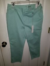 Brand New Chico's Platinum Cropped 24in Crop Basic Jean: Size 1.5 Free Shipping!