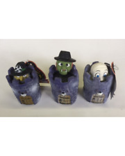 """XPET VOTOYS HALLOWEEN LATEX SPOOKY POP UP 4.5"""" DOG TOY LOT ALL THREE TOYS"""