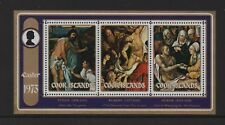 COOK ISLANDS 1973 EASTER (PAINTINGS) M/SHEET *MNH*