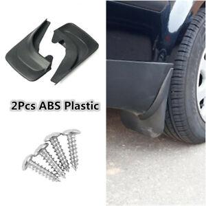 Soft Plastic 2Pcs Car Accessories Mud Flap Splash Guard Mudguards For SUV Truck