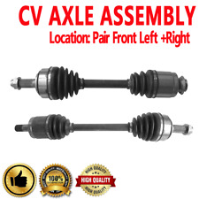PAIR FRONT LEFT & RIGHT CV DRIVE AXLE SHAFT ASSEMBLY For ACURA TSX 2004-2008