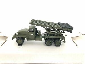 Collection Plastic Model of the USSR BM-13H(US6) (Katyusha) Scale 1:72